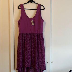 Beautiful high low summer dress